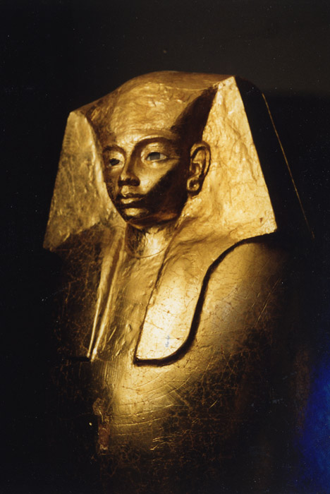 Golden coffin of king Nebukheperre Inyotref VII. 17th dynasty, 1600 ...